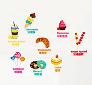Мультипликация / Слова и фразы / Романтика / Мода / Продукты питания / Праздник / Пейзаж / Геометрия / фантазия Наклейки Простые наклейки,