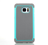 PC + Silicone Dual Layer Shockproof Rugged Case For Samsung Galaxy S3/S4/S5/S6/S6 Edge/S6 Edge +/S7/S7 Edge