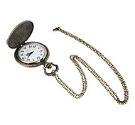 Unisex Pocket Watch Large Retro Pocket Watch Motorcycle Quartz Clamshell