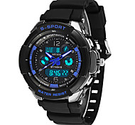 Japan's High-end PC Dual Display Electronic Watches Swimming Waterproof Sports Watch