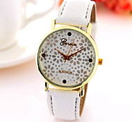 Women's Fashionable  Printing Leisure lovely Geneva Quartz Watch Leather Band Cool Watches Unique Watches