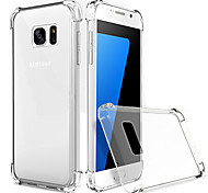 Ultra-Thin Transparent Shell Phone Drop Resistance for Galaxy S7/S7 Edge