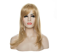 Fashion Capless Blonde Color Long Straight  Hair Wig  Synthetic Wigs  New Arrival