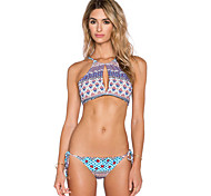 Europe Swimsuit Sexy Tight Floral Piece Swimsuit