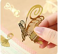 1PC Exquisite mini metal bookmark animal school supplies, China Wind creative minimalist Bookmarks(Style random)