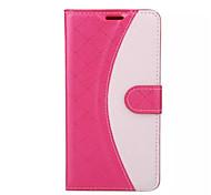 caso di alta qualità dell'unità di elaborazione di portafogli in pelle cellulare custodia per Samsung Galaxy A3 / A5 / A7