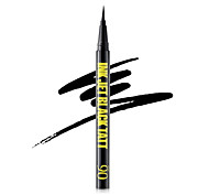 Ink Jet Black Tatt and Yellow Cool Liquid Waterproof Smooth Eyeliner