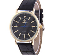 Men's Casual Fashion Large Quartz Watch with Diamond Dial Ultralight Bamboo Leather Band Wrist Watch Cool Watch Unique Watch