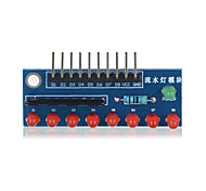 8-Digit LED MCU Water Lamp Module for Arduino - Blue Suitable for Arduino Scientific Research