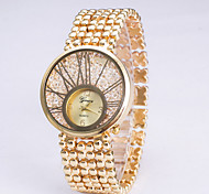 Women's Fashion Watch Digital Stainless Steel Band Luxury Gold