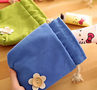 Flower Cloth Art Storage Bag(1 PCS Random Color)