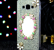 For Samsung Galaxy Case Rhinestone Case Back Cover Case Glitter Shine TPU Samsung On 7 / On 5