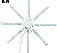 15W Luces de Techo 32 SMD 5730 1280 lm Blanco Fresco Decorativa AC 100-240 V 1 pieza