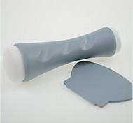 1pcs grau Stamper Schaber Nagelkunst Transfer DIY Maniküre Werkzeuge na177