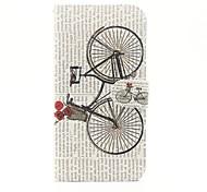 diseño del dibujo o del patrón de color caja del teléfono de la PU para el iPhone 5 / 5s / SE