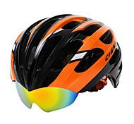 Casque Vélo ( Jaune / Vert / Rouge / Bleu / Orange , Fibre de Carbone + EPS )-de Unisexe -Cyclisme / Cyclisme en Montagne / Cyclisme sur