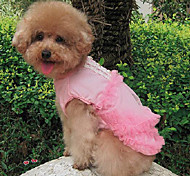 Sweety Lace Flowers Pet Dress
