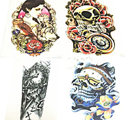 2016 New fashion Safe non-toxic waterproof 3D pattern tattoo stickers