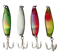 "Cucchiai / Esca metallica 1 pcs pc,6.5g/pc g/1/4 Oncia,50mm/pc mm/2-1/8"" pollice Others Metallo Pesca di acqua dolce / Pesca con esca"