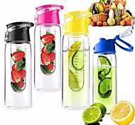 800мл велосипедного спорта фрукты вливая заварки здоровья вода лимона чашки сока велосипед экологически чистые (случайный цвет)