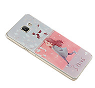 Relief Graphic Pattern Fashion Plastic Material Back Cover for Galaxy A5(2016)