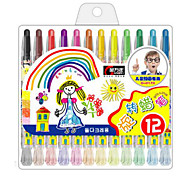 Plastic Cute Crayons