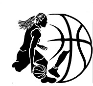 4040 Aiwall Play Basketball Wall Stickers Home Decor Wall Decals For Kids Room Decoration Vinyl Decals Just do it