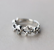 Ring,Midi Rings / Band Rings,Jewelry Silver / Sterling Silver Fashionable Wedding / Party / Daily / Casual Silver 1pc,One Size Women