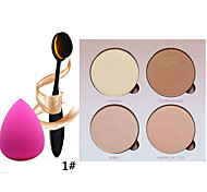 Anas Beverly Hills Glow Kit With Brush And 1PCS Cosmetic Puff