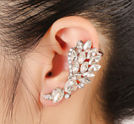 Unisex Fashion Gold/Silver Rhinestone Tassel Ear Cuffs Earrings Jewelry (1 PC,10g)