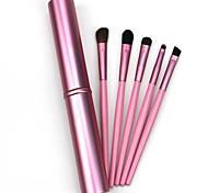 5 Set di pennelli Cavallo Professionale Legno / Metallo / Plastic Viso Altro