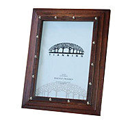 7*5*1 Solid Wood European/Americano Style Vintage Picture Frame