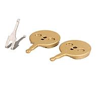 Frenos de bicicletas y piezas(Dorado,sintético) -Bremsbelag
