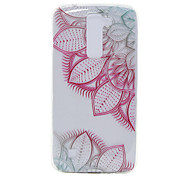 TPU Material Rose Leaves Pattern Slim Phone Case for LG G5/K7