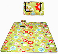 Moistureproof / Waterproof Nylon Camping Pad / Sleeping Pad / Picnic Pad Yellow