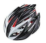 Sportif Unisexe Vélo Casque 21 Aération Cyclisme Cyclisme Cyclisme en Montagne Cyclotourisme L: 58-61CM Polycarbonate EPSJaune Blanc