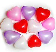 Воздушные шары 100шт формы сердца Случаи Свадьба День Рождения украшения Поставки Ballon партии DECORA