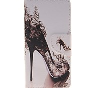 Heels Card Holder PU Leather Phone Case for Huawei P9/P9lite
