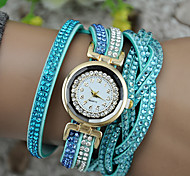 Women's European Style Fashion New Shiny Rhinestones Bracelet Watch