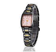 Women's Fashionable Waterproof Ultra-thin Tungsten Steel Quartz Watch