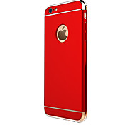 Luxury Electroplate 3 in 1 Protective Back Cover Hard Case for iPhone SE/iPhone 5S/iPhone 5