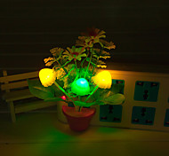 Creative Changeable Color  Flower Light Sensor Night Light