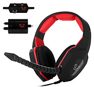 HO-939MV Optical Decoder Video Games Headset Over Ear Headphone Detachable Mic for PC/MAC/XBOX ONE/XBOX 360/PS3/PS4