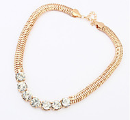 Golden / Black / Silver Chain Necklaces Daily / Casual 1pc Jewelry