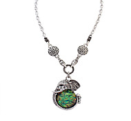 Necklace Pendant Necklaces Jewelry Green Alloy / Acrylic Party / Daily / Casual 1pc Gift