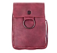 Universal Leather Cell Phone Bag Shoulder Pocket Wallet Pouch Case For Samsung For iPhone For Huawei For HTC For LG