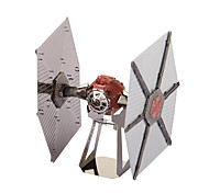 Jigsaw Puzzles 3D Puzzles / Metal Puzzles Building Blocks DIY Toys Space Ship Metal Ivory / Red Model & Building Toy