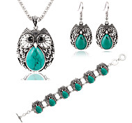 MOGE New Fashion Ladies Jewelry Sets / Necklace / Bracelet / Earrings