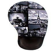 mousepad massagem silicone vintage - paris