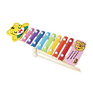 Wood Yellow Child Hand Knock Piano for Children All Musical Instruments Toy Random Delivery